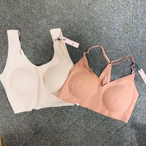 NWT VS bundle of two padded bralettes bras
